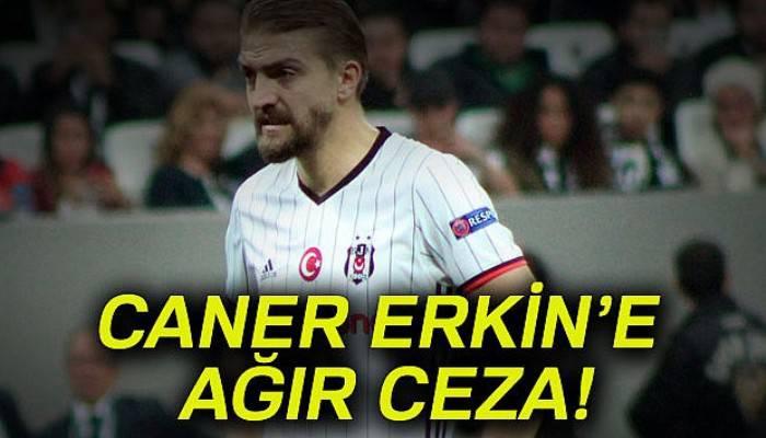 Caner Erkin'e 6 maç ceza