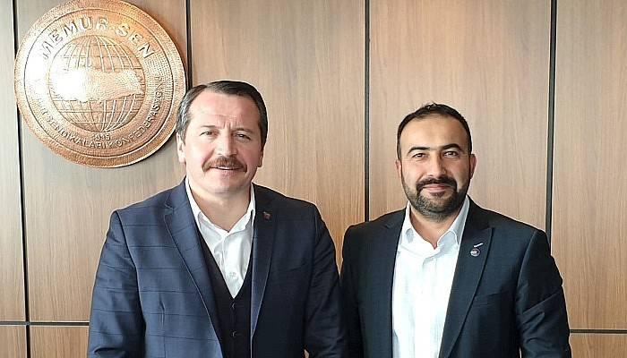 Resul Can Ankara'da başkanlar kuruluna katıldı