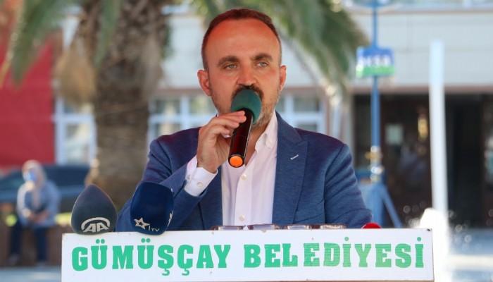 AK Parti'li Turan: 'Göçmene 10 katına su satacağım' diyecek kadar aciz olan bir millet olmadık, olmayacağız (VİDEO)