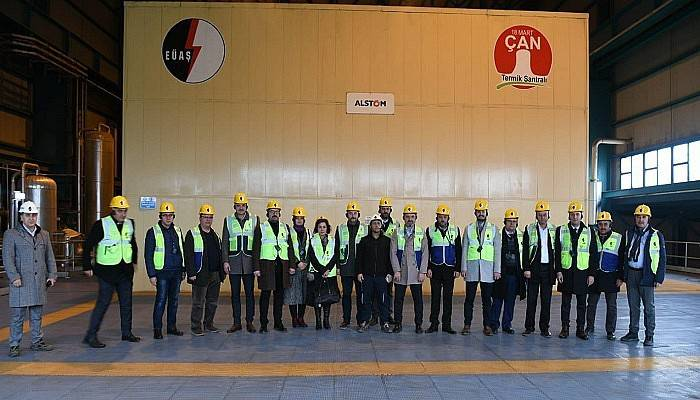AK Parti Çanakkale İl Genel Meclis üyeleri Çan'da buluştu