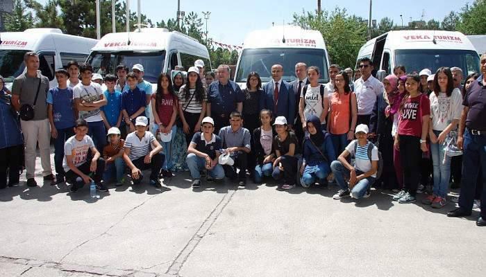 Adıyamanlı öğrenciler, çanakkale ve istanbul'u gezecek