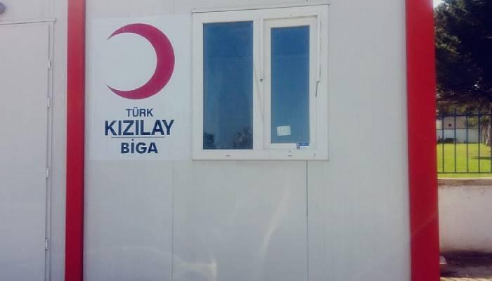 Biga Türk Kızılay daha aktif