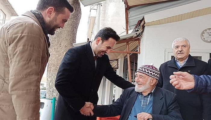 Makas ve Ergin Lapseki'de ziyaretlerde