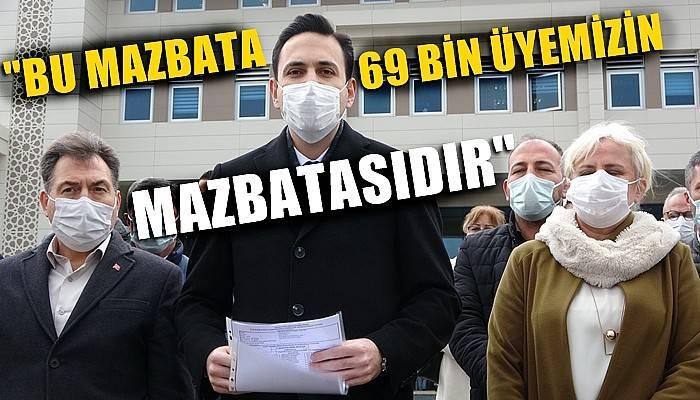 AK Parti Çanakkale İl Başkanı Makas mazbatasını aldı (VİDEO)