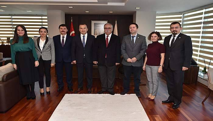 Baro'dan Başkan Gökhan'a ziyaret