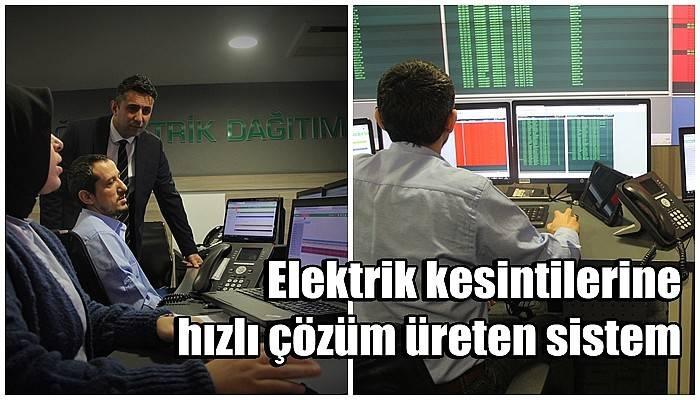 Elektrik kesintilerine hızlı çözüm üreten sistem (VİDEO)
