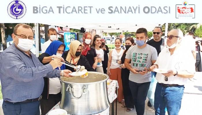 BİGA TSO'DAN AHMET ALP BEBEK İÇİN YARDIM PROGRAMI