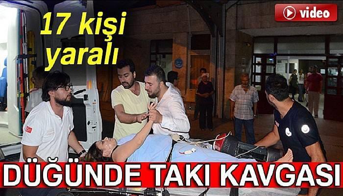Zonguldak'ta düğünde kavga: 17 yaralı