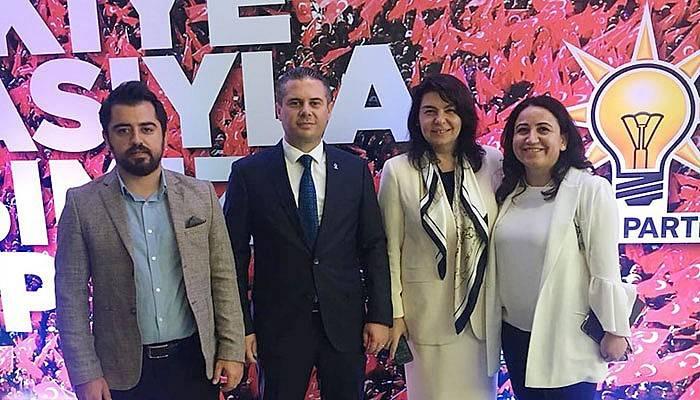 İl Başkanı Yıldız Ak Parti'nin 18. kuruluş yıl dönümü programına katıldı