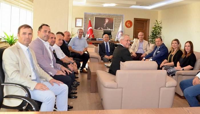 Biga TSO'dan Rektör Prof. Dr. Sedat Murat'a Ziyaret