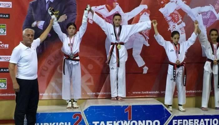 Gökçe Göğebakan Türkiye Şampiyonu Oldu