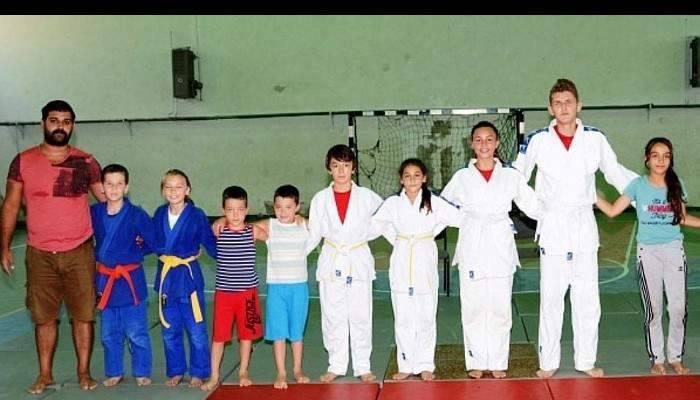 Geleceğin Judo şampiyonları yetişiyor