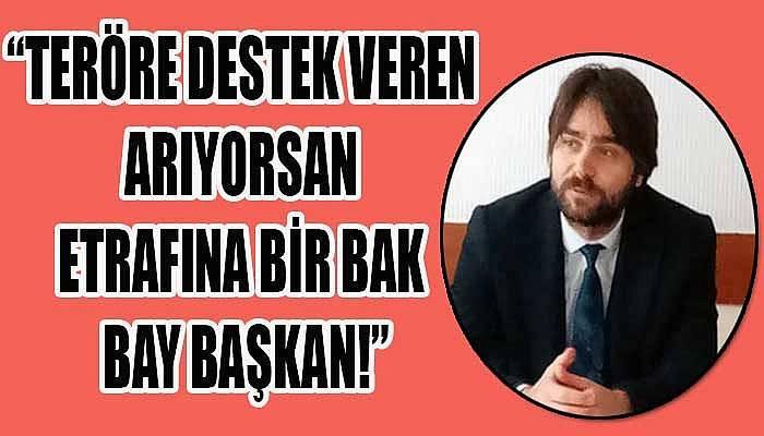 Ülgür Gökhan'a bir tepki de MHP İl Başkanı Yıldırım'dan