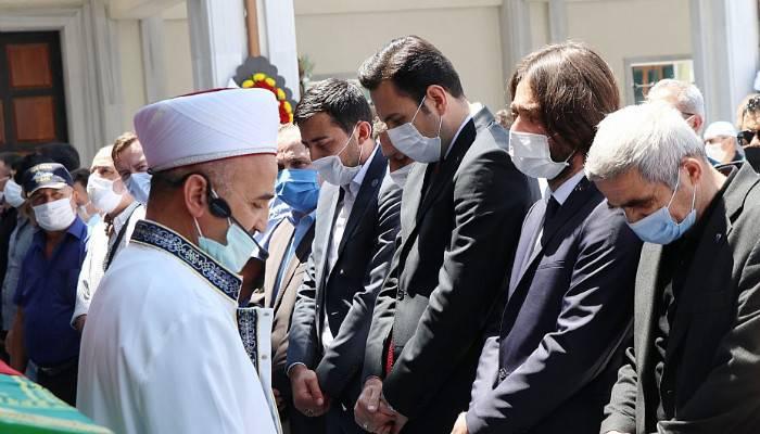MHP İl Başkanı Yıldırım'ın babası toprağa verildi