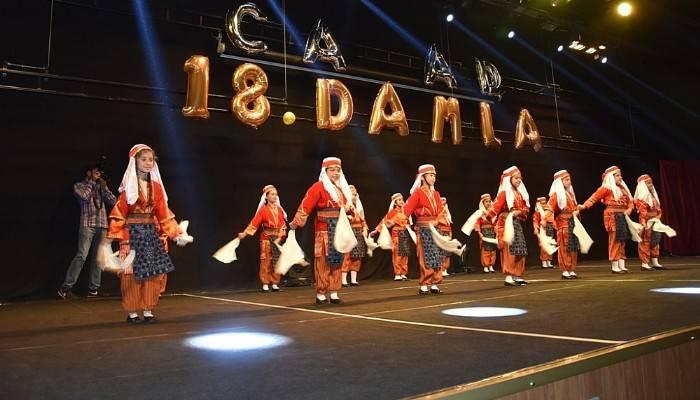 ÇAFAD'dan dans gösterisi