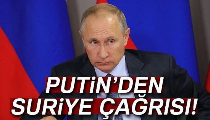 Putin, dünyayı, Suriye'ye insani yardım ve mayınları temizlemeye çağırdı