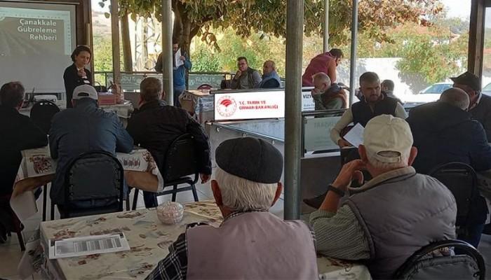 Çiftçi Eğitim Toplantıları Devam Ediyor