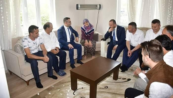 Başkan Erdoğan Şehit Ailelerini Ziyaret Etti