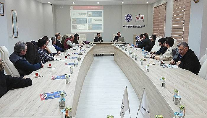 GMKA'dan Biga TSO'ya devlet destek semineri