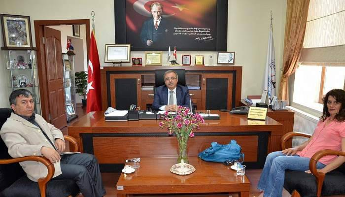 Piri Reis MYO Müdürü'nden Özacar'a nezaket ziyareti