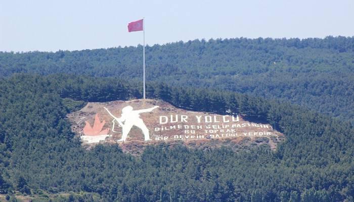 'Dur Yolcu' simgesindeki Türk Bayrağı 13 metre daha yükseltildi (VİDEO)