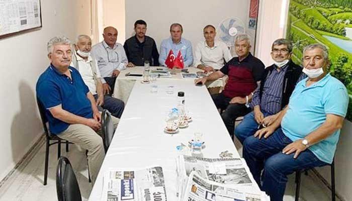 CHP Lapseki ilçe Başkanı görevinde