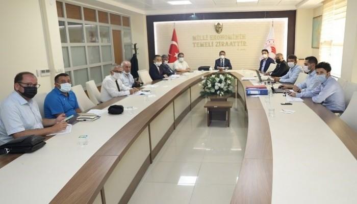 İl Toprak Koruma Kurulu Toplantısı düzenlendi