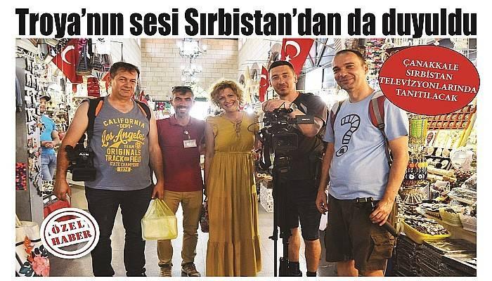 Çanakkale Sırbistan televizyonlarında tanıtılacak