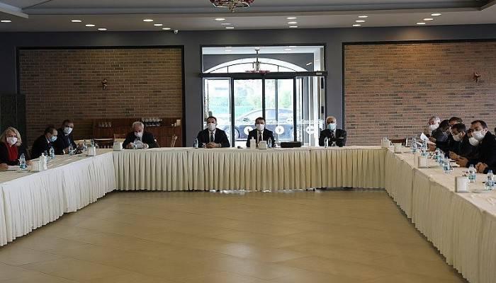 Çanakkale Pandemi Kurulu toplantısı gerçekleştirildi