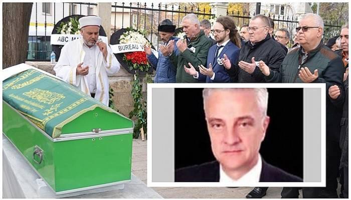 Gelibolu'da armatör Mehmet Aksoy son yolculuğuna uğurlandı
