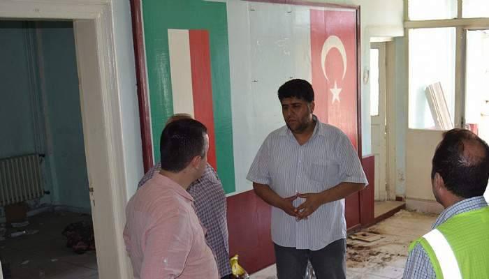 """Genel Sekreter Aksoy """"Çanakkale Halkına iyi bir tesis kazandırmak istiyoruz"""""""