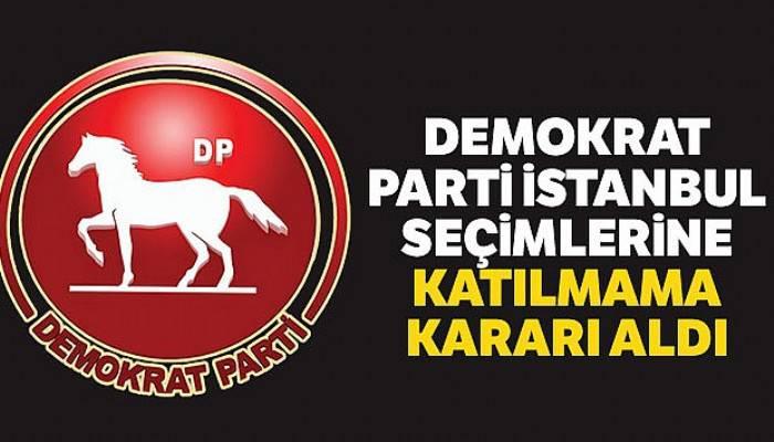 Demokrat Parti'den 23 Haziran kararı