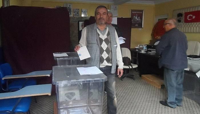 CHP'li delege seçimleri devam ediyor