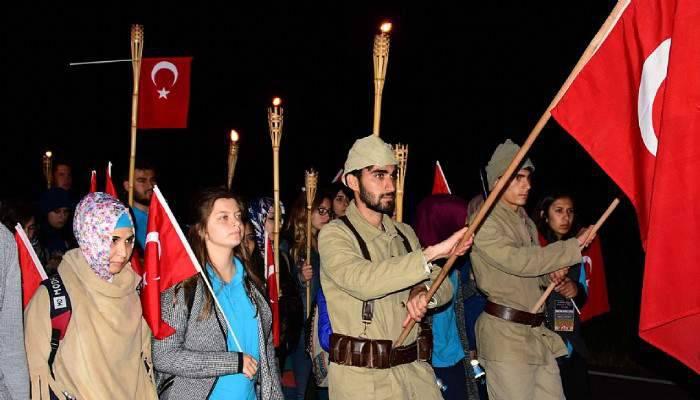 Çsatt'tan 2. Tümen Askerlerini Anma Yürüyüşü