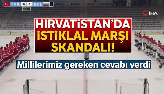 Hırvatistan'da İstiklal Marşı skandalı!