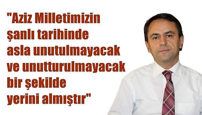 Çanakkale Valisi Aktaş'ın 15 Temmuz Mesajı