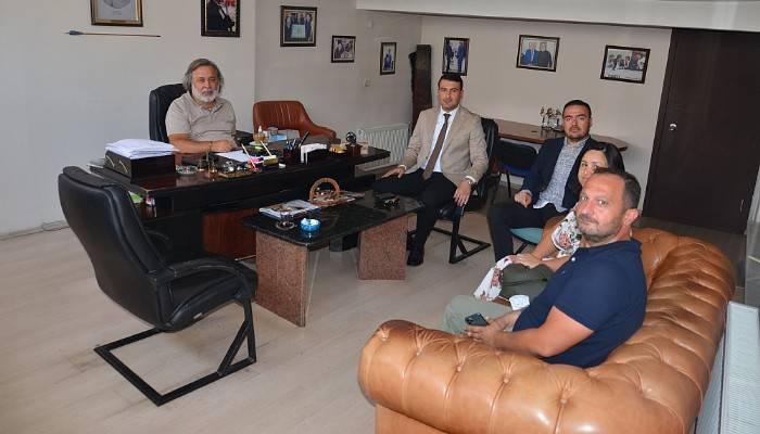 DEVA Partisi Yönetiminden Boğaz Medyaya Ziyaret