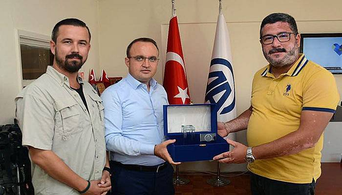 Turan'dan Anadolu Ajansı'na ziyaret
