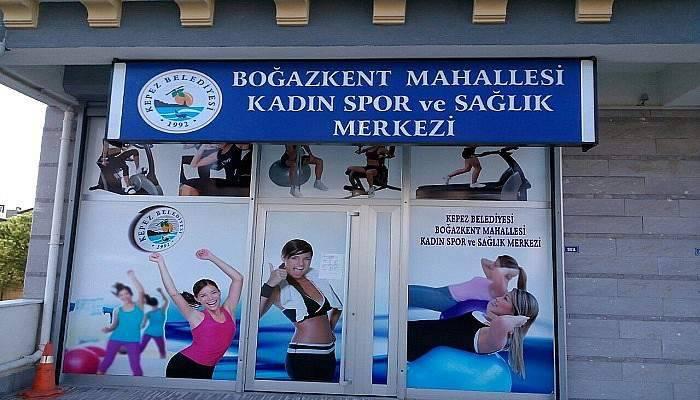 Kepez Kadın Spor Merkezi yeni adresinde