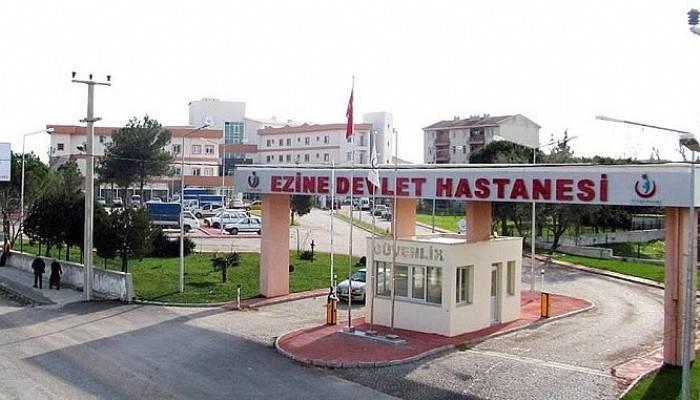 """Sağlık Sen'den Ezine Devlet Hastanesi açıklaması; """"Sağduyudan Uzak İdareciler"""""""