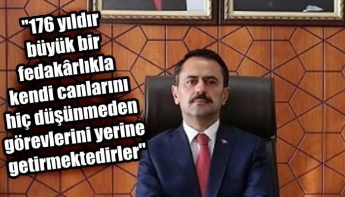 Vali Aktaş' ın Türk Polis Teşkilatı'nın 176. Kuruluş Yıl Dönümü Mesajı