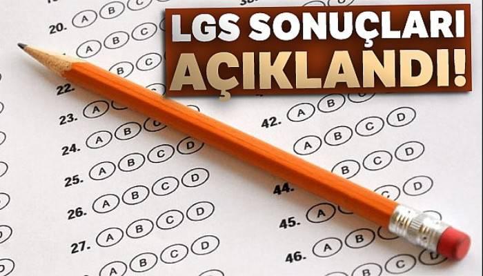 LGS sonuçları açıklandı! (2019 LGS sınav sonuçları son dakika)
