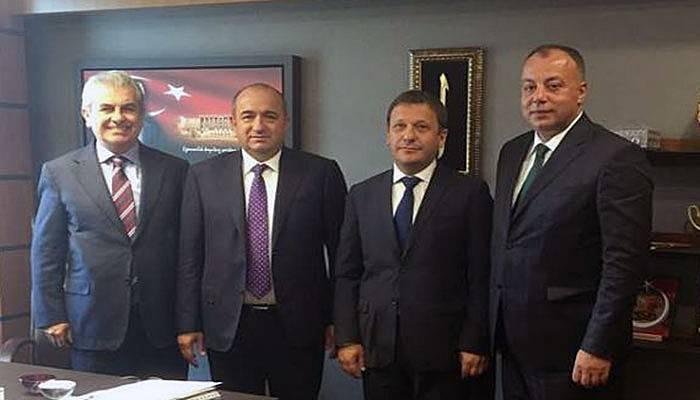 Milletvekili Gider, ÇTSO yöneticilerini ağırladı