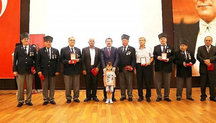 Kıbrıs Barış Harekâtı Milli Mücadele Madalya ve Beratı Tevcih Töreni