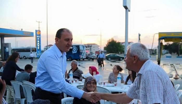 Gazi ve şehit aileleri iftar yemeğinde buluştu