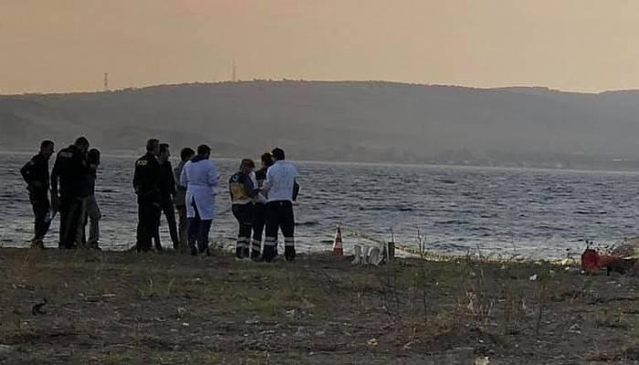 Lapseki sahilinde kadın cesedi bulundu