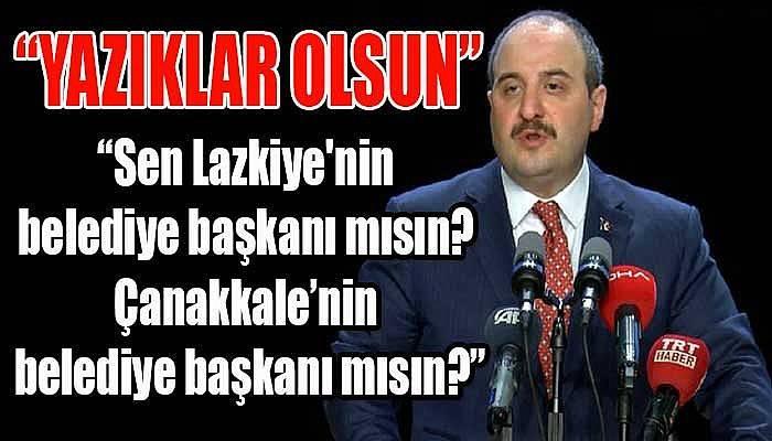 Bakan Varank'tan Ülgür Gökhan'a çok sert tepki!