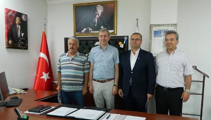 Proje destekçisi Arken Jeneratör'den Prof. Dr. Bünyamin Bacak'a ziyaret