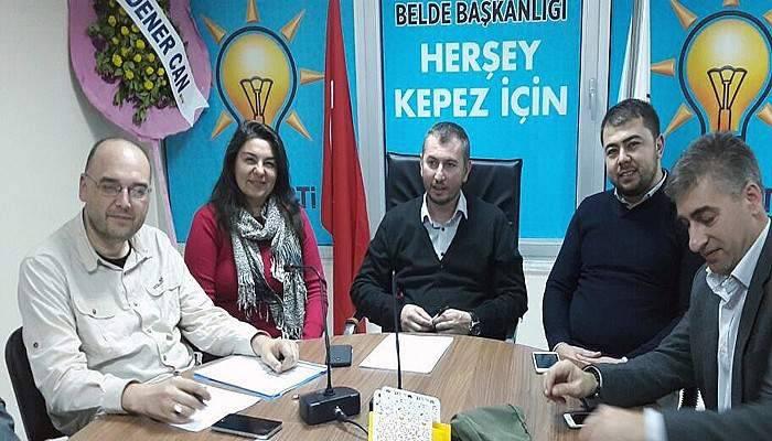 AK Parti'den Kepez buluşması