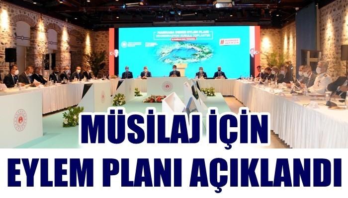 Bakan Kurum, Marmara Denizi Koruma Eylem Planı'nı açıkladı (VİDEO)